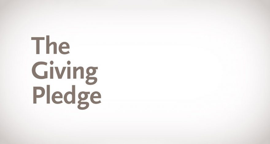 Blog - The Giving Pledge
